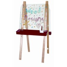 <strong>Wood Designs</strong> Double Adjustable Easel with Two Side Acrylic board