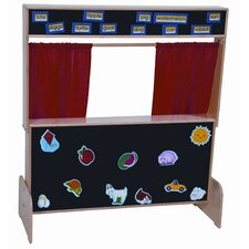 <strong>Wood Designs</strong> Deluxe Puppet Theater with Flannelboard