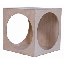 <strong>Wood Designs</strong> Giant Crawl Through Play Cube