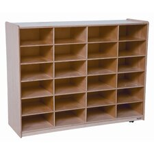 Twenty Four Large Tray Storage Unit with No Trays