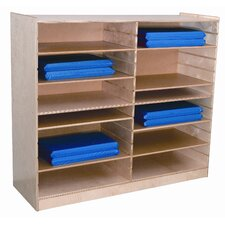 <strong>Wood Designs</strong> Mat Storage Center