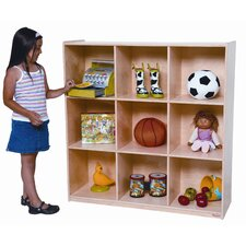 <strong>Wood Designs</strong> Nine Cubby Deep Storage