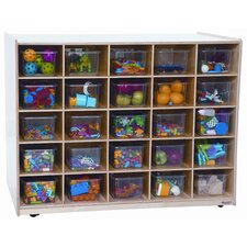 Twenty Five Tray Mobile Shelves Island