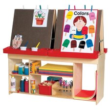 <strong>Wood Designs</strong> Healthy Kids Art Center For Four
