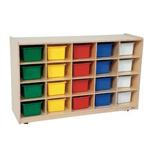 <strong>Wood Designs</strong> Contender 20 Tray Storage Unit