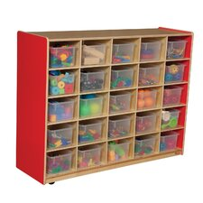Tray Storage Unit 25 Compartment Cubby
