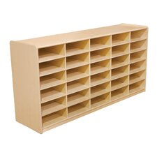 "<strong>Wood Designs</strong> Storage Unit with 3"" 30 Letter Trays"