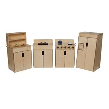 <strong>Wood Designs</strong> Natural Environment Tip Me Not Appliance Set