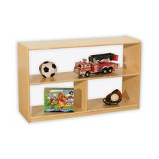 "<strong>Wood Designs</strong> Natural Environment 30"" Versatile Shelf Storage Unit"