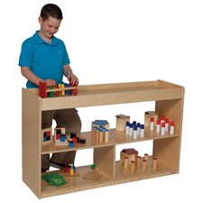"<strong>Wood Designs</strong> Natural Environment 30"" Math/Language Cabinet"