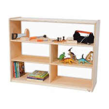 "<strong>Wood Designs</strong> Natural Environment 36"" Versatile Shelf Storage Unit"