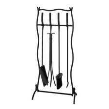 <strong>Napoleon</strong> 4 Piece Wrought Iron Fireplace Tool Set
