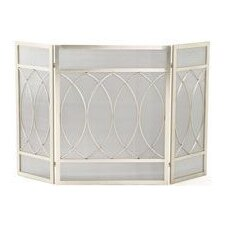 Flat Top 3 Panel Fireplace Screen