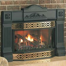 Natural Vent Gas Fireplace