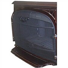 Stove Back Fireplace Screen Kit