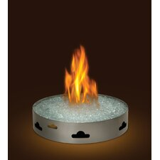 Patio Natural Gas Table Top Fireplace