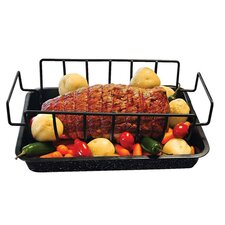 Rib Rack and Pan