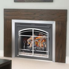 "36"" Zero Clearance Vent Free Gas Fireplace"