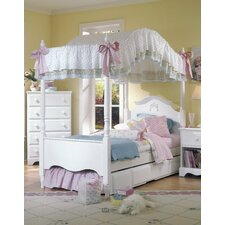 <strong>Carolina Furniture Works, Inc.</strong> Carolina Cottage Princess Canopy Bed