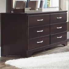 <strong>Carolina Furniture Works, Inc.</strong> Signature 6 Drawer Dresser