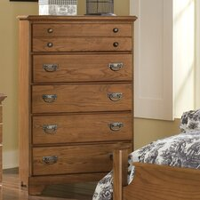 <strong>Carolina Furniture Works, Inc.</strong> Creek Side 5 Drawer Chest