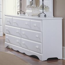 Carolina Cottage 7 Drawer Dresser