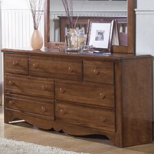 Crossroads 7 Drawer Dresser
