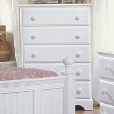 Carolina Cottage 5 Drawer Chest