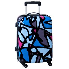 "Scribbles 21"" Hardside Spinner Suitcase"
