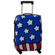 "Stars n' Stripes 21"" Hardside Spinner Suitcase"