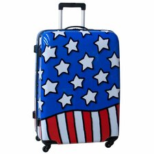 "Stars n' Stripes 28"" Hardside Spinner Suitcase"