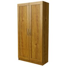 "35.63"" Wide Framed Door Storage Cabinet"
