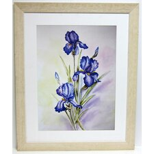 Premier Blue Irises Wall Art