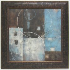 Soft Abstract II Framed Painting Print