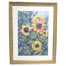 Premier Sunflowers Framed Painting Print
