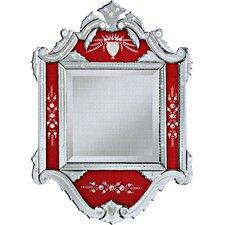 "34"" H x 24"" W Isabelle Venetian Wall Mirror"