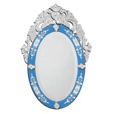 Olympia Venetian Wall Mirror in Blue