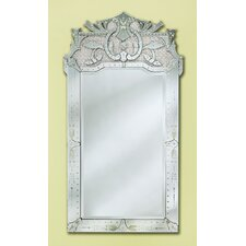 Maxime Venetian Wall Mirror in Silver
