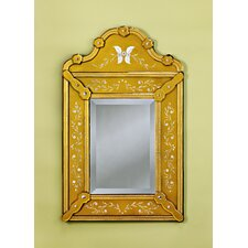 <strong>Venetian Gems</strong> Pauline Venetian Wall Mirror in Gold