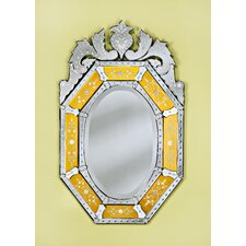 Octagon Venetian Mirror in Gold