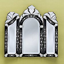 Monet Wall Mirror in Black