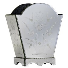 Venetian Mirror Magazine Holder