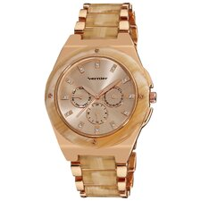 <strong>Vernier</strong> Women's Chronograph Bracelet Watch