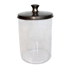 Blown Glass Canister