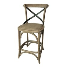 "X Design 24"" Counter Stool (Set of 2)"
