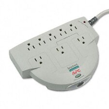 <strong>APC®</strong> SurgeStation Power Surge Protector, 8 Outlets, 6ft Cord