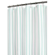 <strong>Eileen West</strong> Tranquil Stripe Polyester Shower Curtain