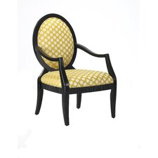 <strong>Comfort Pointe</strong> Hannah Fabric Arm Chair