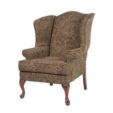 Paisley Wing Back Chair