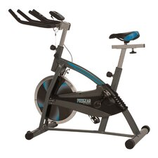 60 Training Indoor Cycling Bike with Computer Monitor and Heart Pulse Sensors
